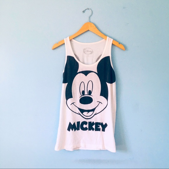 Disney Mickey Mouse Tank Top Size M